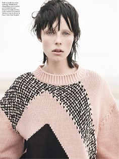 Edie Campbell by Karim Sadli for Vogue Paris November 2013