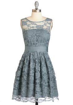BB Dakota When the Night Comes Dress in Smoke   Mod Retro Vintage Dresses   ModCloth.com