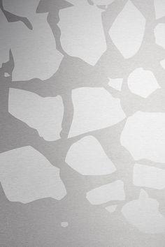 Patterned stainless steel - designer Harri Koskinen #stainlesssteel #stalatex # harrikoskinen #steeltop #worktop #splashback #välitila #tiskipöytä #diskbänk #työtaso #icefloe