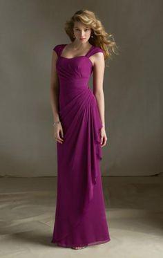 Chiffon Fuchsia Best Bridesmaid Dresses BNNAJ0001-SheinDressAU