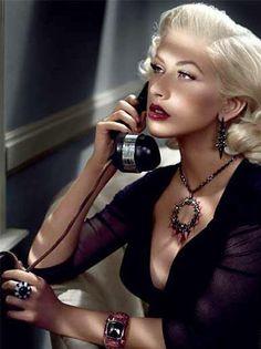 Luxurious and glamorous Christina Aguilera