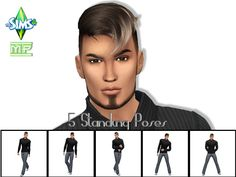 Sims 4 CC's - The Best: Posen by MartyP