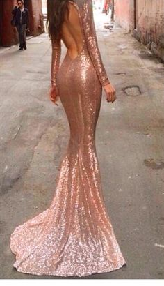 mermaid prom dress