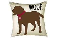Personalized dog pillows
