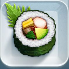 iOS App Icon for Evernote food