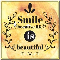 Fridge Magnet - Smile Because Life is Beautiful Smile Because, Cursed Child Book, Life Is Beautiful, Magnets, Hilarious, Funny, 3d Printing, Posts, Videos