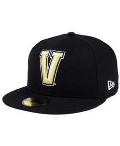 9b36e6850f1 New Era Vanderbilt Commodores Ac 59FIFTY Fitted Cap - Black 7