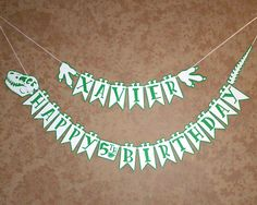 Hey, I found this really awesome Etsy listing at https://www.etsy.com/listing/556032503/dinosaur-banner-new-version-dinosaur