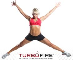 TurboFire is the intense new cardio conditioning program from fitness innovator Chalene Johnson. She'll help you get leaner with exercises that burn up to 9x more fat and calories than regular cardio does. And with more than 20 smoking-hot music remixes, TurboFire will pick you up and push you past your limits.  http://teambeachbody.com/shop/-/shopping/TurboFire?referringRepId=129098