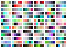 I made this for my own reference but thought I'd share it. This is a color chart for Sanford's Prismacolor Premier color pencils, 132 colors with a few Crayola I kept. I have scanned this...