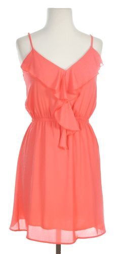 Longing for Summer Sundress in Coral - $38.50