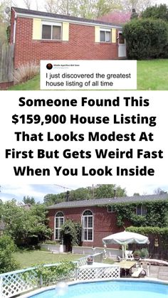#Someone Found This $159,900 House #Listing That Looks Modest At #First But Gets #Weird Fast When You #Look Inside