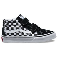 Vans Kids SK8-Mid Reissue V (400 MAD) ❤ liked on Polyvore featuring white a6ac5e9f12