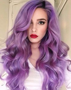 A month in hair colors! Today: purple shades! | The HairCut Web!