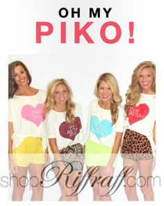 We could never get enough PIKO before and now we definitely can't with the sorority of your choice on the front!  #kkg #piphi #tridelta #deltadeltadelta #kappakappagamma #pibetaphi #chiomega #aopi #kappadelta #sorority #greek #greeklife