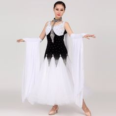 Ballroom Dancing, Dance Wear, Competition, Black And White, Big, Stage, Campaign, How To Wear, Shopping