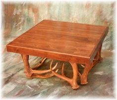 antler coffee altered antlers walnut coffee table coffee tables walnut