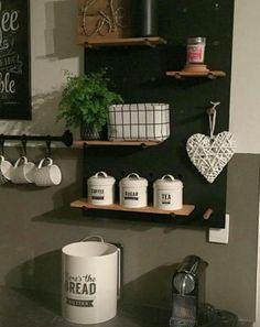Simple and Crazy Tips and Tricks: Cottage Kitchen Decor Sarah Richardson cute kitchen decor accessories. Beach Kitchen Decor, Beach Kitchens, Ikea Hacks, Annie Sloan, Ikea Kitchen Australia, Kmart Home, Kmart Decor, Genius Ideas, Decor Scandinavian