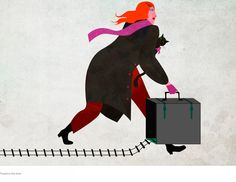 AJUBELstudio  Illustration / Graphic design    Travels in the time    jpg (1024×792)  Graphic Design