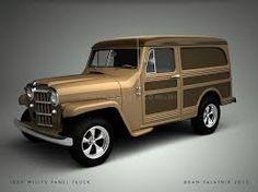 Resultado de imagen para jeep willys panel wagon