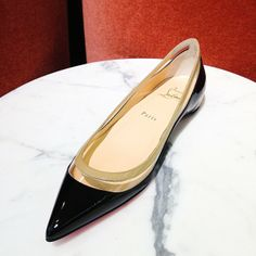 Make your point. @Christian Wilsson Louboutin #perfectpairs #insidebny