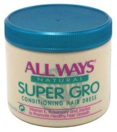 ALL WAYS Super Gro Conditioning Hair Dress Regular Formula 5.5 Ounce
