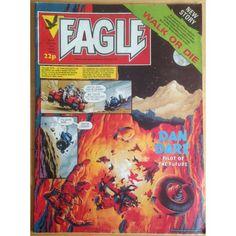 Eagle 18/06/1983 UK Paper Comic Sci Fi