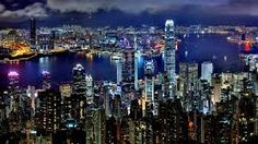 Azamara® will take you to places that you really will love: Hong Kong, Singapore, Dubai, Beijing, Mumbai & more on our Southeast Asia cruises. Hong Kong Night, Mining Pool, Victoria Harbour, Cruise Destinations, Holiday Destinations, Night City, Best Cities, Beautiful World, New York Skyline