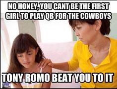Tony Romo beat you to it.....
