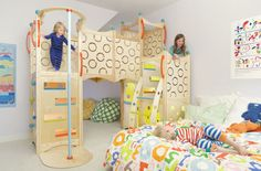 How cool are these indoor playsets? Jack and Sawyer would love these!
