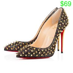 Women Shoes - Follies Spikes - Christian Louboutin