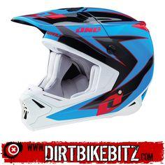 2014 One Industries Gamma Motocross Helmets - Regime Cyan Black - 2014 One Industries Motocross Helmets - 2014 One Industries