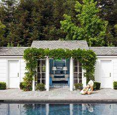 awesome poolhouse