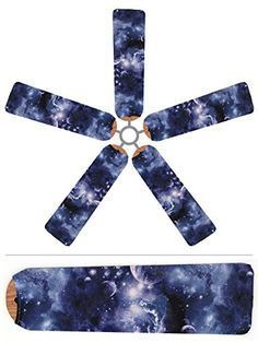 Send your little astronomers to bed with stars in their eyes. The Outer Space design on our Fan Blade Designs will have them dreaming of the Milky Way and the Big Dipper. When they want a fresh perspe right existence Ceiling Fan Blade Covers, Ceiling Fan Blades, Hunter Douglas, Outer Space Bedroom, Cosmos, Galaxy Bedroom, Decorative Ceiling Fans, Pakistan, Outer Space Decorations