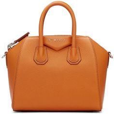4224a05d3f Givenchy Orange Mini Antigona Bag ( 1