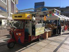 #ラゾーナマルシェ #auto #rickshaw #foodcart #streetfood #chai #rickshawcafe #electrike #bajaj #エレクトライク #オートリキシャ #オートリクシャー #chaiwala #chaiwallah #tea stall