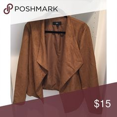 Faux suede blazer Faux suede blazer, worn once Mossimo Supply Co Jackets & Coats Blazers