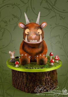 The Gruffalo Cake Gruffalo Party, The Gruffalo, Fondant Cakes, Cupcake Cakes, Cupcakes, Beautiful Cakes, Amazing Cakes, Pretty Cakes, Amazing Art
