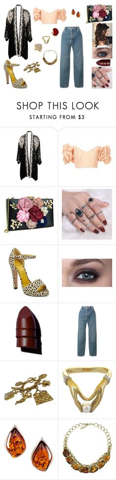 """""""&"""" by ohbabyimrachel ❤ liked on Polyvore featuring Bambah, Charlotte Olympia, Anastasia Beverly Hills, Vetements, Chanel, Carrera, Be-Jewelled and Monsoon"""