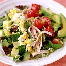 WW: Cobb Salad w/Flaxseed Oil Dressing Recipe