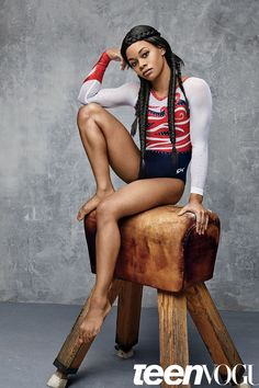 August Cover Star Gabby Douglas Is Determined to Make Olympic History Again
