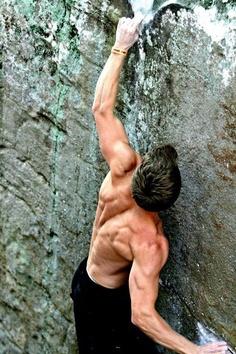 Back muscles... #escalada
