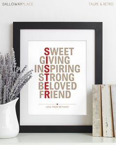 982 best Gift for Sister images on Pinterest | Manualidades, Gifts ...