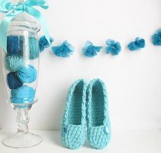 Francine Toukou--Simply Slippers (Crochet)