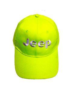 Jeep Neon Yellow Cap