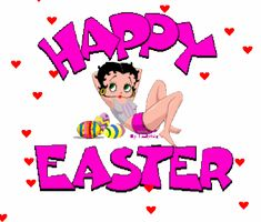 Easter Betty boop