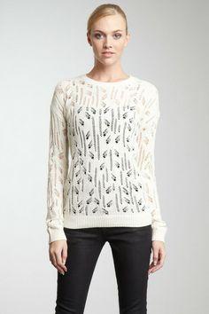 Acrobat Open Stitch Pullover