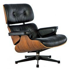 lounge stoel geïnspireerd door eames