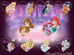 Disney Princesses - Love Ones by BeautifPrincessBelle.deviantart.com on @deviantART
