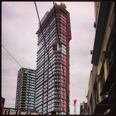 Flatiron building in Vancouver